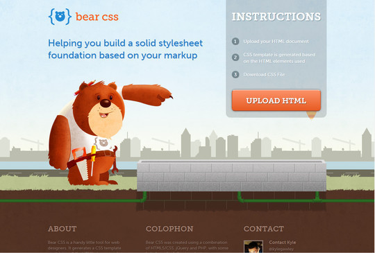 40 Free CSS Tools For Accelerated Development 35