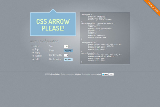 40 Free CSS Tools For Accelerated Development 37