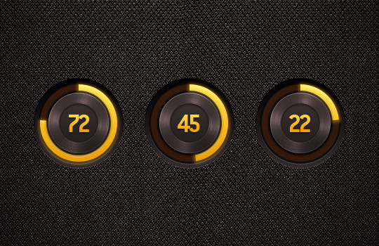 13 Free PSD Loading & Progress Bar Designs 12
