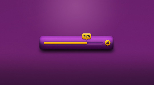13 Free PSD Loading & Progress Bar Designs 6