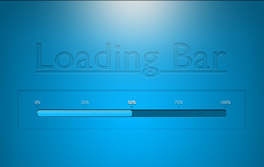 13 Free PSD Loading & Progress Bar Designs 9