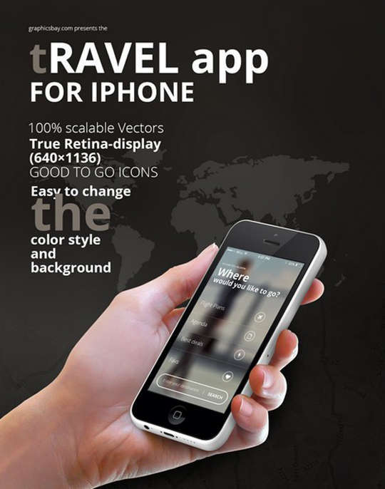 29 Free Photoshop Designs for Mobile App User Interface 32