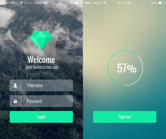 29 Free Photoshop Designs for Mobile App User Interface 11