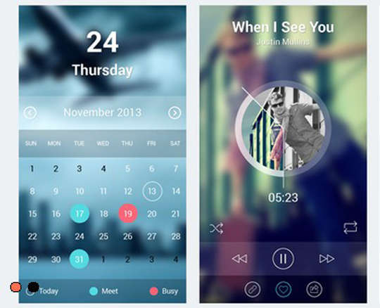 29 Free Photoshop Designs for Mobile App User Interface 13