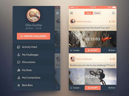 29 Free Photoshop Designs for Mobile App User Interface 14