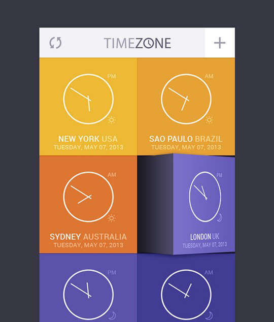 29 Free Photoshop Designs for Mobile App User Interface 16
