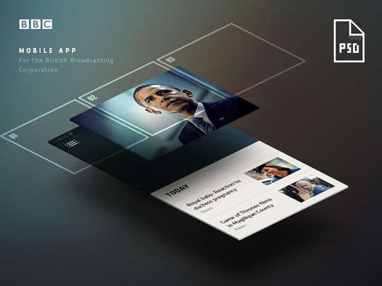 29 Free Photoshop Designs for Mobile App User Interface 22