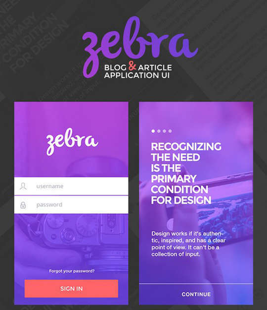 29 Free Photoshop Designs for Mobile App User Interface 25