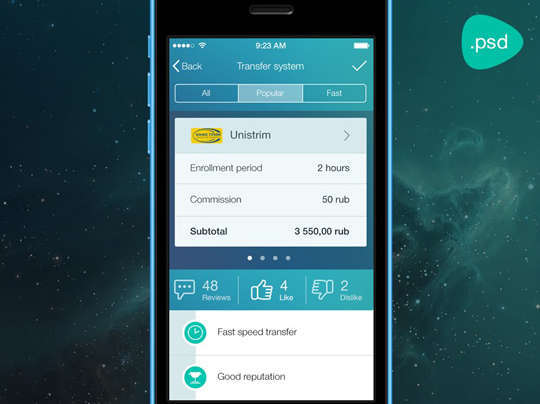 29 Free Photoshop Designs for Mobile App User Interface 28