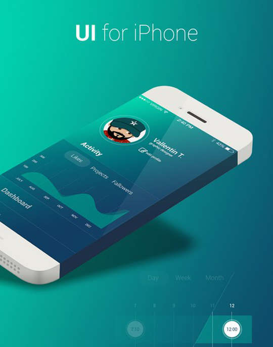 29 Free Photoshop Designs for Mobile App User Interface 4
