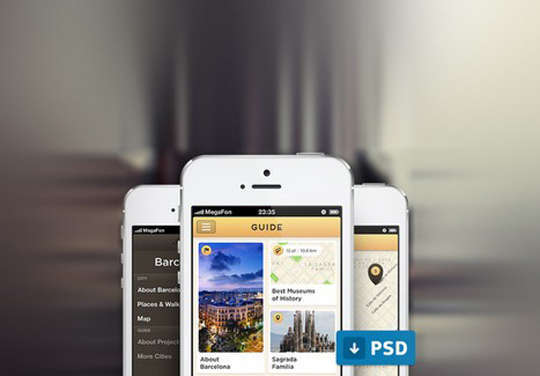 29 Free Photoshop Designs for Mobile App User Interface 8