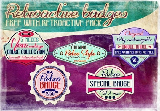 40 Free Fonts Best For Retro And Vintage Designs 6