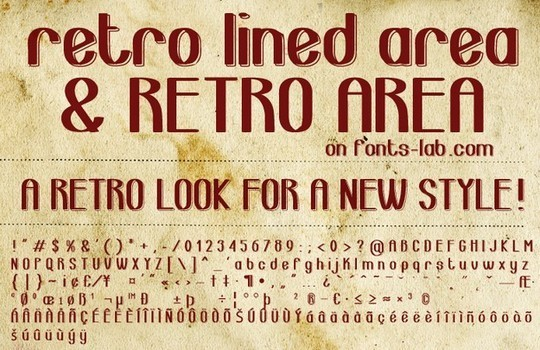 40 Free Fonts Best For Retro And Vintage Designs 12