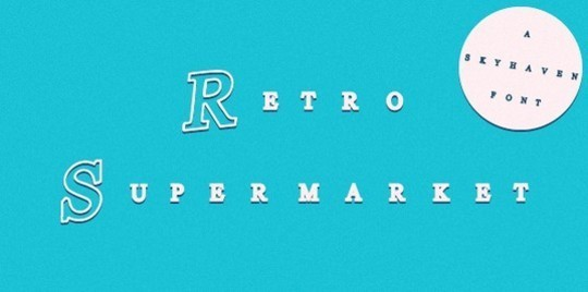 40 Free Fonts Best For Retro And Vintage Designs 14