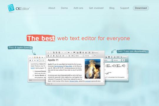 10 Excellent Free Rich-Text Editors 8