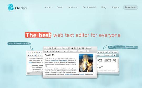 10 Excellent Free Rich-Text Editors 2