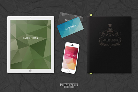 40 Free Corporate Identity & Stationery Mockup Templates 17