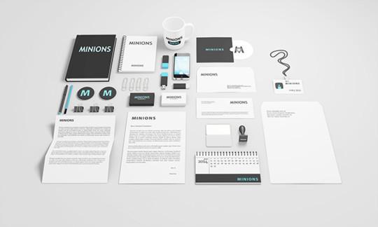 40 Free Corporate Identity & Stationery Mockup Templates 14