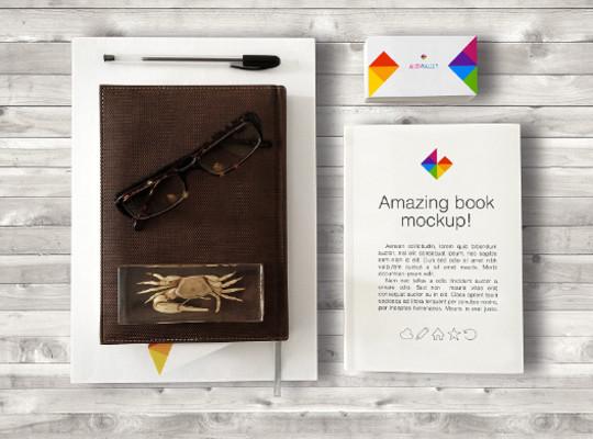 40 Free Corporate Identity & Stationery Mockup Templates 22