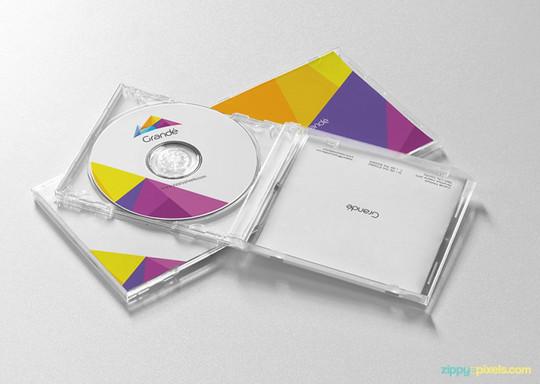 40 Free Corporate Identity & Stationery Mockup Templates 27