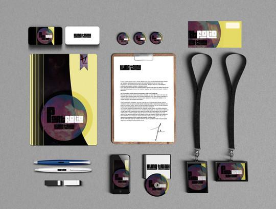40 Free Corporate Identity & Stationery Mockup Templates 33