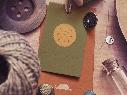 40 Free Corporate Identity & Stationery Mockup Templates 38