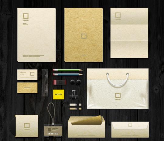 40 Free Corporate Identity & Stationery Mockup Templates 4