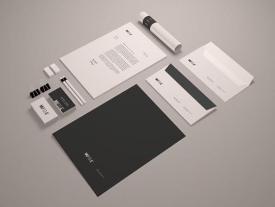 40 Free Corporate Identity & Stationery Mockup Templates 6