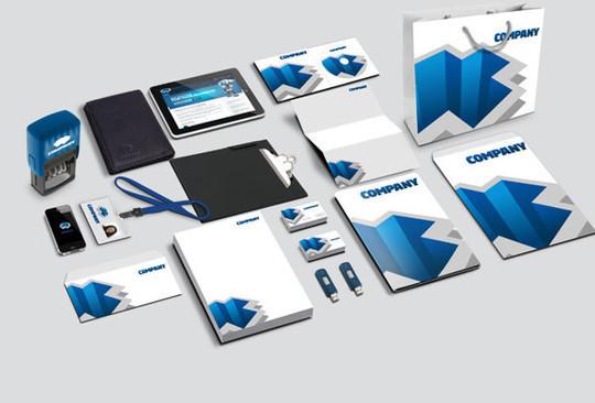 40 Free Corporate Identity & Stationery Mockup Templates 12