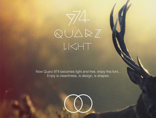 15 Light & Ultra-Thin Fonts For Your New Designs 11