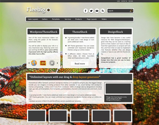 13 Free & Fresh WordPress Themes 2
