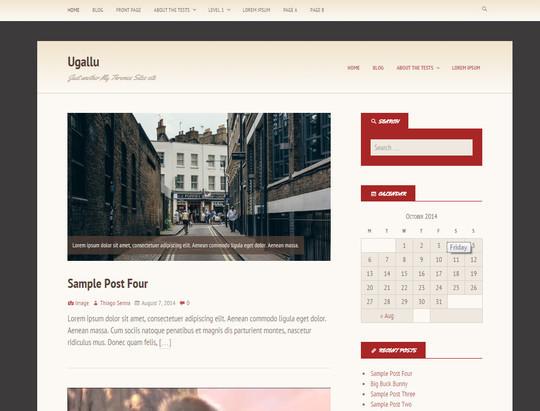 13 Free & Fresh WordPress Themes 10