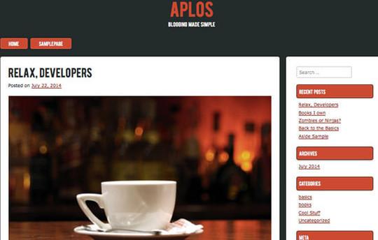 13 Free & Fresh WordPress Themes 11
