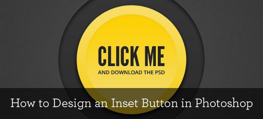 Call To Action: 40 Best Button Photoshop Tutorials 26