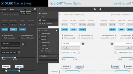 40 Free GUIs For Website Builders 3