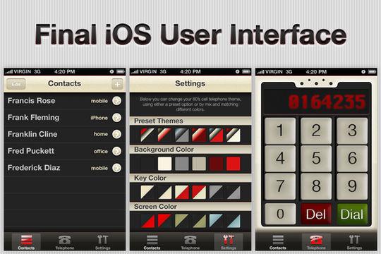 36 Photoshop Tutorials For iPhone App UI Design 19