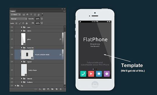 36 Photoshop Tutorials For iPhone App UI Design 26
