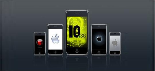 36 Photoshop Tutorials For iPhone App UI Design 12
