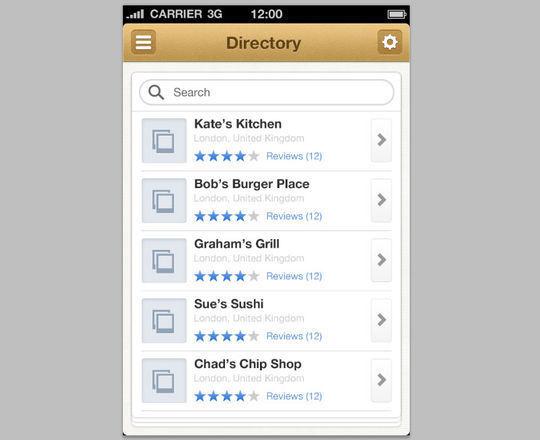36 Photoshop Tutorials For iPhone App UI Design 7