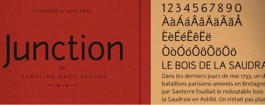 15 Free Minimalistic Designs Fonts 11
