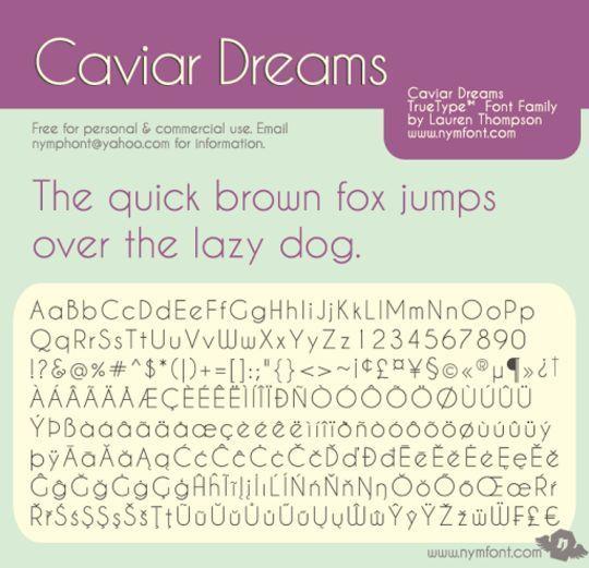 15 Free Minimalistic Designs Fonts 12