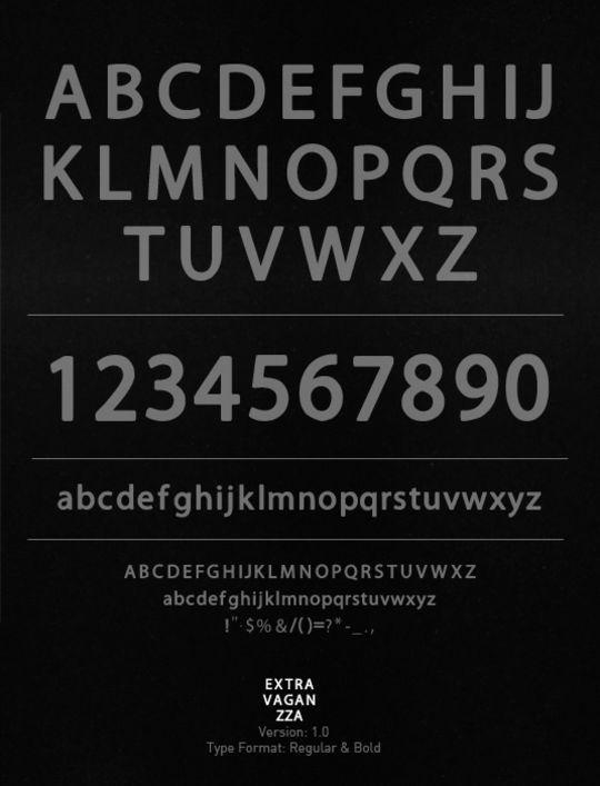 15 Free Minimalistic Designs Fonts 13