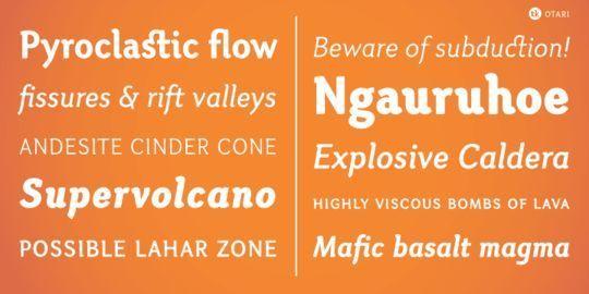 15 Free Minimalistic Designs Fonts 14