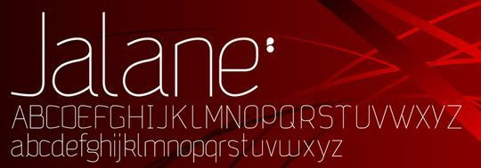 15 Free Minimalistic Designs Fonts 16