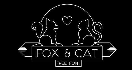 15 Free Minimalistic Designs Fonts 2