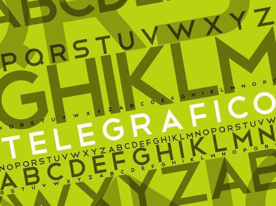 15 Free Minimalistic Designs Fonts 8