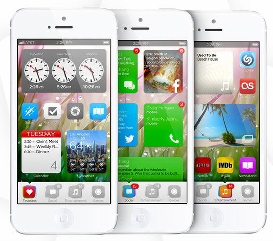 11 Examples Of iOS 7 Mobile App Interface Designs 11