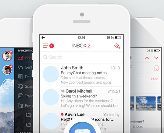 11 Examples Of iOS 7 Mobile App Interface Designs 3