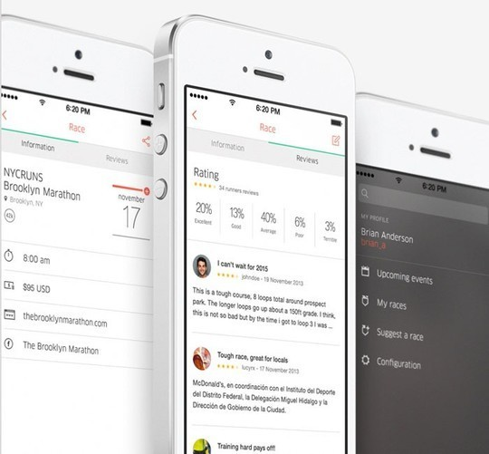 11 Examples Of iOS 7 Mobile App Interface Designs 7