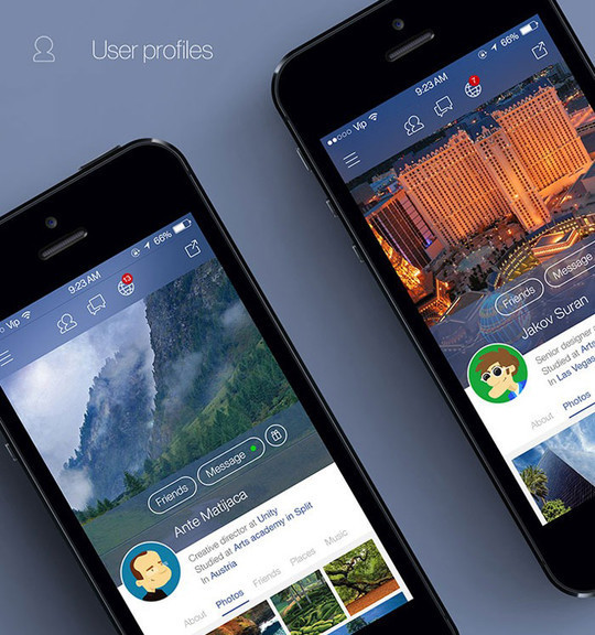 11 Examples Of iOS 7 Mobile App Interface Designs 8
